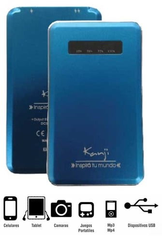 Cargador Portatil Kanji 5000mah